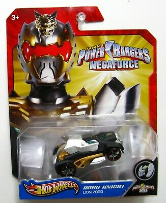 HOT WHEELS ~ Power Rangers Megaforce ~ Mega Strike Racer ~ 20th Anniversary  Car