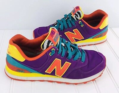 best service 47f96 bddc5 New Balance Womens WL574PY Shoes 574 Colorful Sneakers Size 7 Zebra
