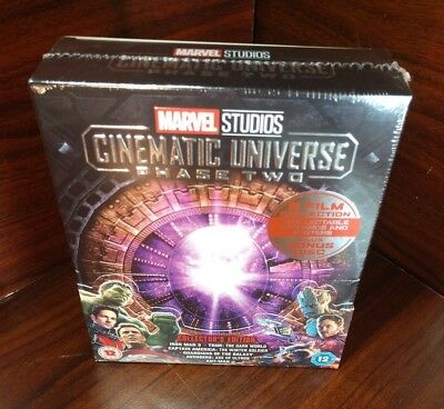 Marvel Studios Cinematic Universe: Phase Two Collection(Blu-ray,REGION FREE)-NEW