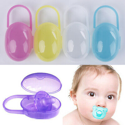 1Pc Baby pacifier storage box infant soother pacifier nipple container case WG