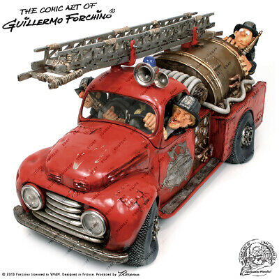 Guillermo Forchino FO85040, The Fire Engine, Collection Figure, Original