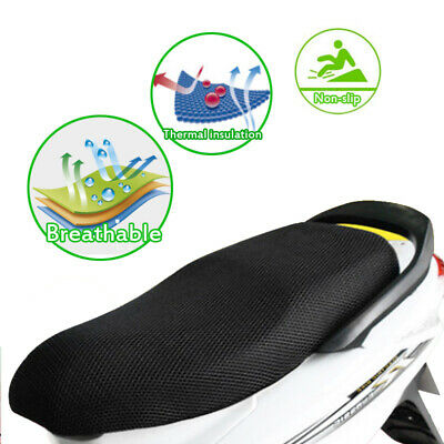 Motorcycle Scooter E-bike Seat Cover Sun Proof Non-slip Heat Insulation