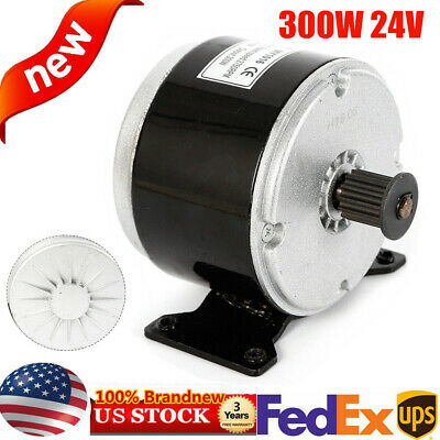 300W 24V DC Electric Motor MY1016 scooter go-kart 2750 RPM Brush