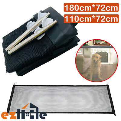 Safe Safety Enclosure Guard&Install Mesh Pet Magic Anywhere Dog Gate Barrier