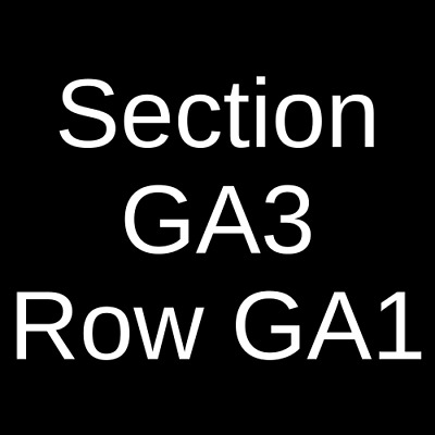 2 Tickets Killswitch Engage & Parkway Drive 4/19/19 Los Angeles, CA