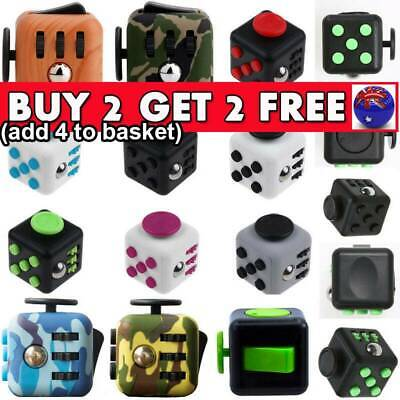 3D Fidget Hand Finger Spinner Cube Focus Stress Reliever Toy For Kids Adults I