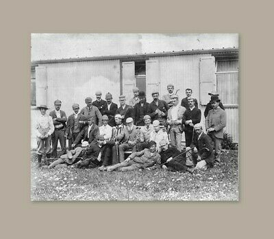 OLD SCHOOL GOLF unsigned 11 x 14 Photograph  Tom Morris  Ben Sayers  J. H Taylor