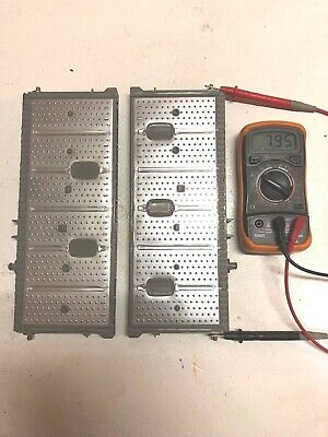 04-09 Toyota Prius TWO NIMH Hybrid Battery Cells Cell Pack 2 Block Unit 7.8V