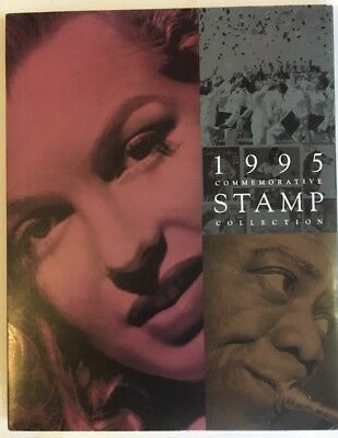 1995 US Commemorative Stamp Collection Booklet with Stamps Included