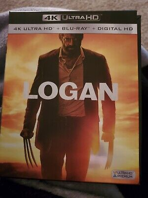 Logan (2017, 4K Ultra HD Blu-ray/Blu-ray, 4 Disc Set) NO DIGITAL CODE