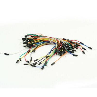 For Arduino Breadboard Male to Female Dupont Wire Jumper Cable 65pcs Good