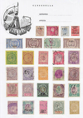 AFRICA - REVENUES (25+ cinderella collection)