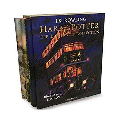 J K Rowling 3 Books Collection Set Harry Potter and the Philosophers Stone New