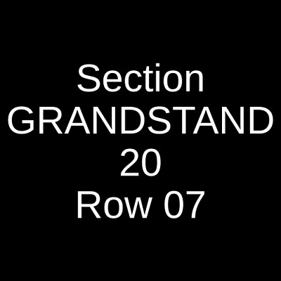 4 Tickets Zac Brown Band 9/1/19 Fenway Park Boston, MA