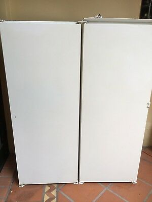 Liebherr Integrated Fridge & Freezer Side by Side Pair Excellent Used Condition.