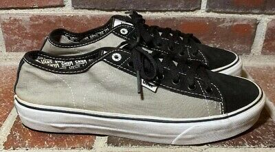 d88dc87c32 MENS VANS FERRIS Skate Sneakers Black And Gray VN- 098N1K0 Size 13 ...