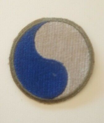 Patch 29th infantry division US WWII - 100 % ORIGINAL