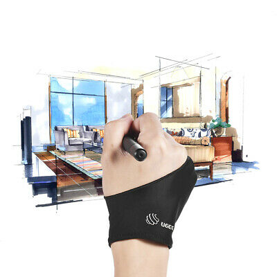 Free Size Two-Finger Drawing Glove Right &Left Hand Artist Tablet Sketching G9W2