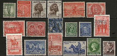 Australia Pre Decimal Collection - Lot 1 -  3 Scans - Used