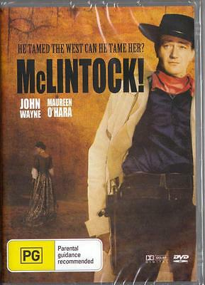 Mclintock! - John Wayne - New & Sealed Region 4 Dvd Free Local Post