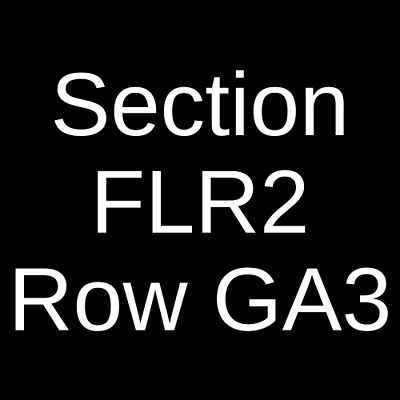 3 Tickets J.I.D. 5/15/19 Phoenix Concert Theatre Toronto, ON