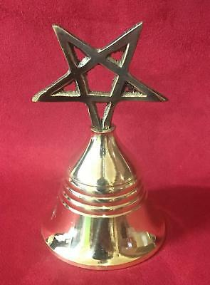 Campana Ritual Pentaculo - Ritual Spell Witchcraft Witches