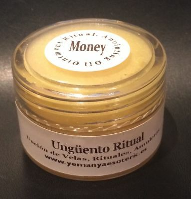 LOT X4 ⭐️ Dinero / Money ⭐️ OINTMENT RITUAL⭐️UNGUENTO/ANOINTING OIL 30gr.