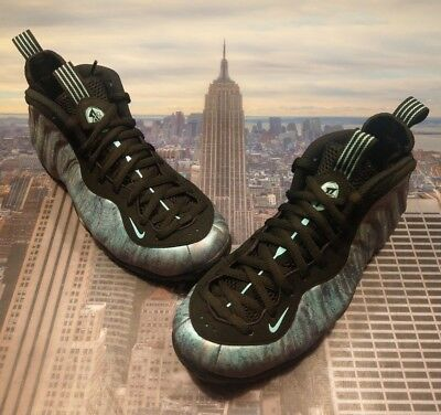 detailed look c5735 d8cb3 Nike Air Foamposite One PRM Abalone Black Aurora Green Size 11 Pro 575420  009