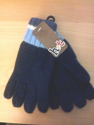 Boy's Gloves Blue Size 3-6 New With Tags