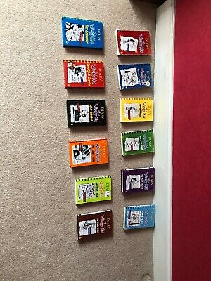 Diary of a wimpy kid books (12 Books)