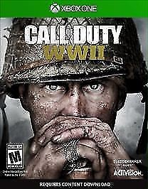 Call of Duty: WWII (Microsoft Xbox One, 2017) EXCELLENT CONDITION!