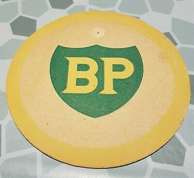 sous bock pompe essence BP viltje tankstation coaster British Petroleum Company