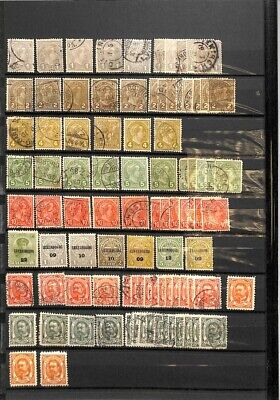 [OP9192] Luxembourg lot of stamps on 12 pages - see photos on description