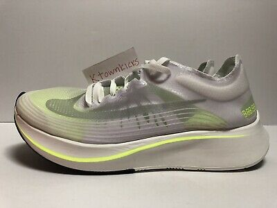 021e4390aea29 Nike Zoom Fly Running Shoes White Volt AJ8229 107 Women s Size 7 NoLid