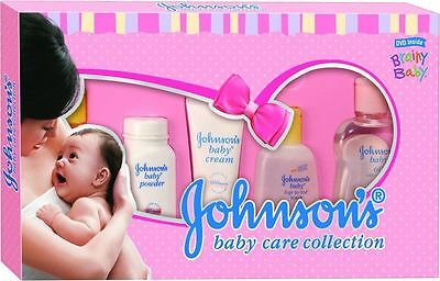 Johnson's Baby Care |DeluxeCollection| complete baby care kit - Set of 7 gift-FS