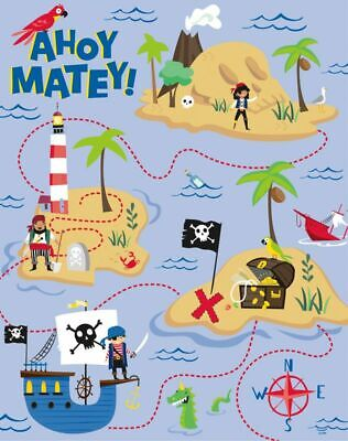 Pin Childrens Birthday Party Game * Stick the Eye Patch on The Pirate