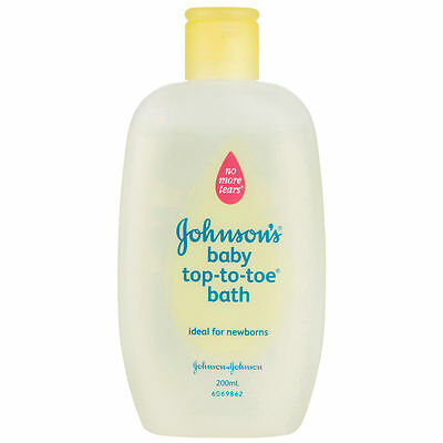Johnson's Baby Top to toe Baby Wash Tear Free Bath 110ml Baby Care