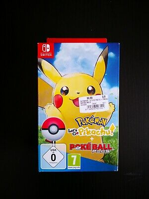Pokemon Lets Go Pikachu im Bundle mit Pokeball  NEU OVP Nintendo Switch