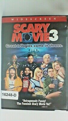 DVD SCARY MOVIE 3-Charlie Sheen/Denise Richards  in Original Jacket FS 10