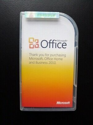 Microsoft Office 2010 Home and Business Word Excel Outlook PowerPoint NO SLEEVE