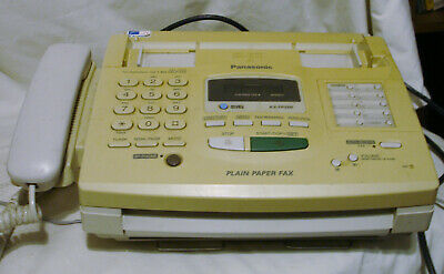 Panasonic Plain Paper Fax KX-FP200 With Operating Manual