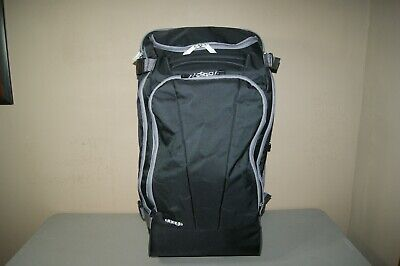 """eBags TLS Mother Lode 29"""" Wheeled Duffel Luggage Black with Grey"""