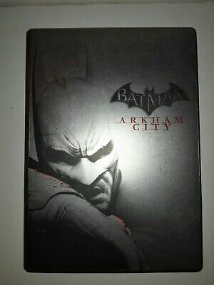 Batman Arkham City steelbook (Catwoman)ONLY BOX, NO Game Disc PS3,Xbox360, G1