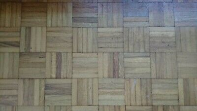 Parquet oak flooring 1950's - reclaimed in batches of 50 fingers for sale