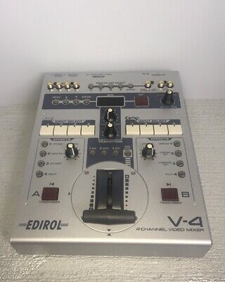 Edirol Roland V-4 4-Channel Video Mixer with Effects