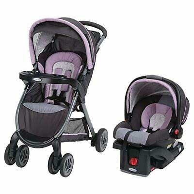 Car Seat and Stroller Graco FastAction Fold Click Connect Travel System Janey