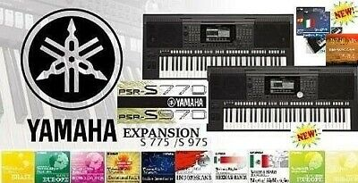 YAMAHA PSR S975 970 S775 770, TYROS 2,3,4,5, GENOS EXPANSION PACKS +
