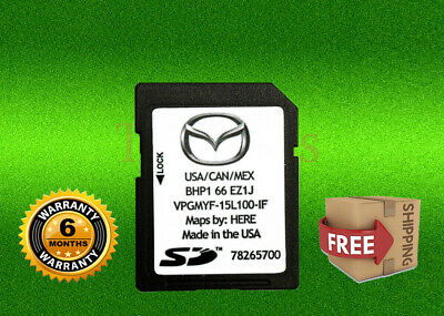 Navigation SD Card Map Update GPS BHP1 66 EZ1J For Mazda Vehicles