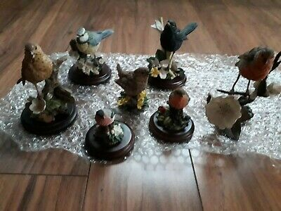 country artists birds figurines