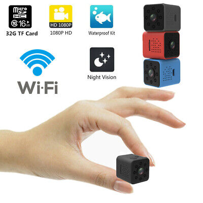 Mini Nascosta Spia Telecamera Full HD IP Wireless Wifi Micro Spy Video Camera DV